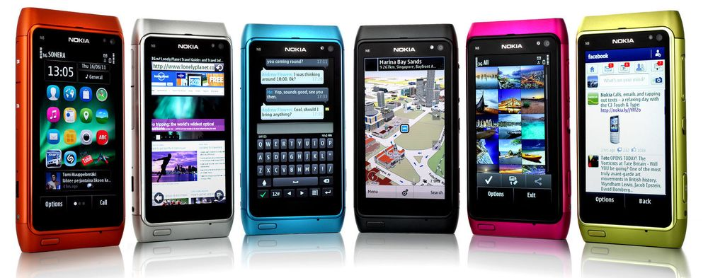 Nokia N8 er blant mobilene som kan oppgraderes til Symbian Anna.
