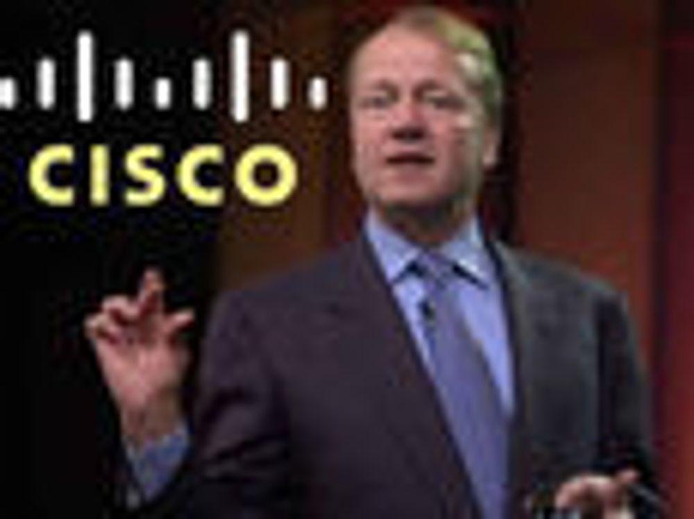 Bedre enn ventet fra Cisco