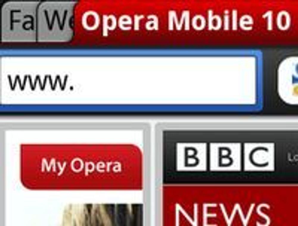 Opera lanserer ny mobilnettleser
