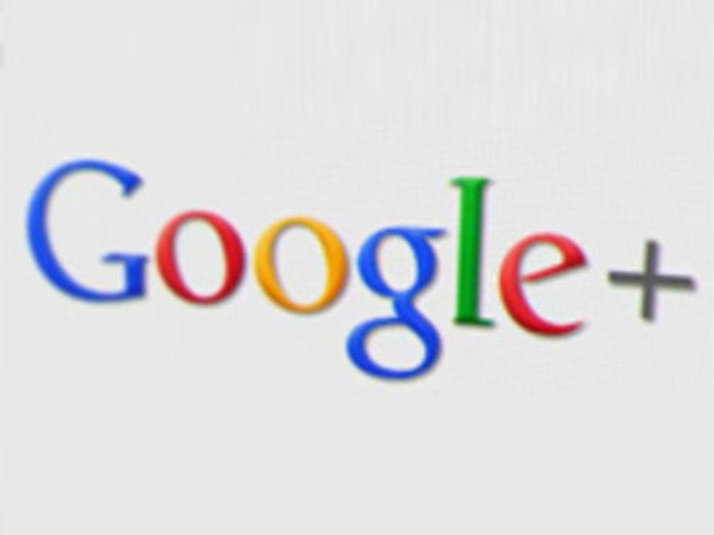 Han er størst på Google+