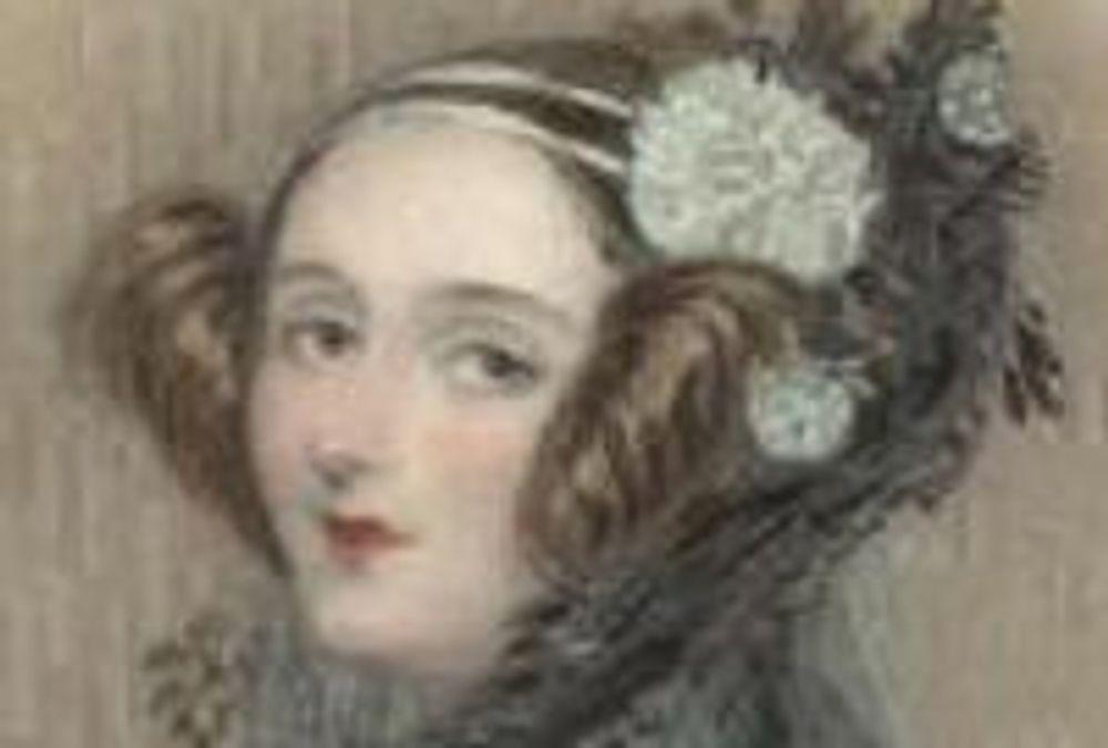 Grevinne Ada Augusta Lovelace er anerkjent som historiens første programmerer.