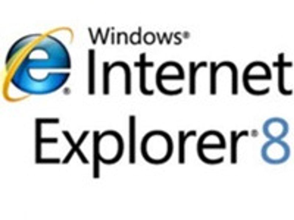 Internet Explorer 8 kommer i dag