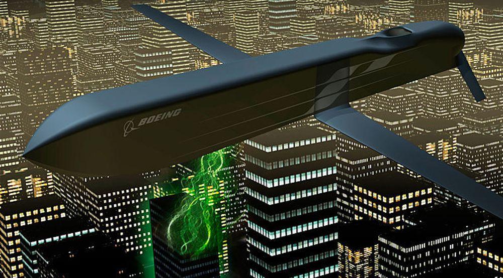 Boeings CHAMP-missil kan rette en skur med kraftige mikrobølger mot flere mål under hver flyvning.