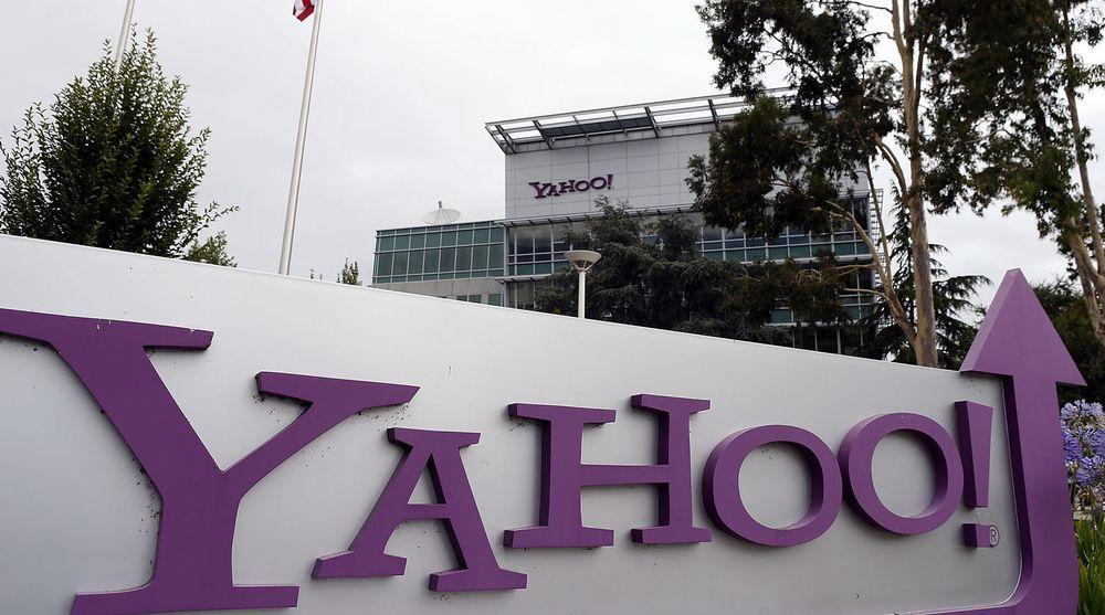 Oppoverpilen ved Yahoos hovedkvarter i Sunnyvale i California er til en viss grad berettiget: Analytikerne hadde ventet verre tall enn dem toppsjef og nybakt mor Marissa Mayer presenterte.