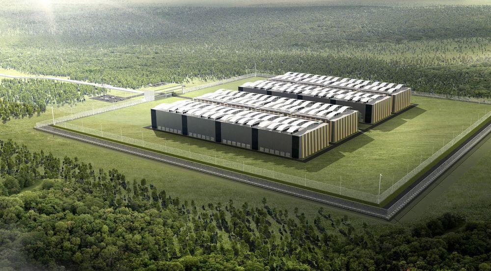 Greenfield Datacenter, som eies av Lefdal Mine (67 prosent) og statlige Entra Eiendom (33 prosent) har fått sin første kunde.