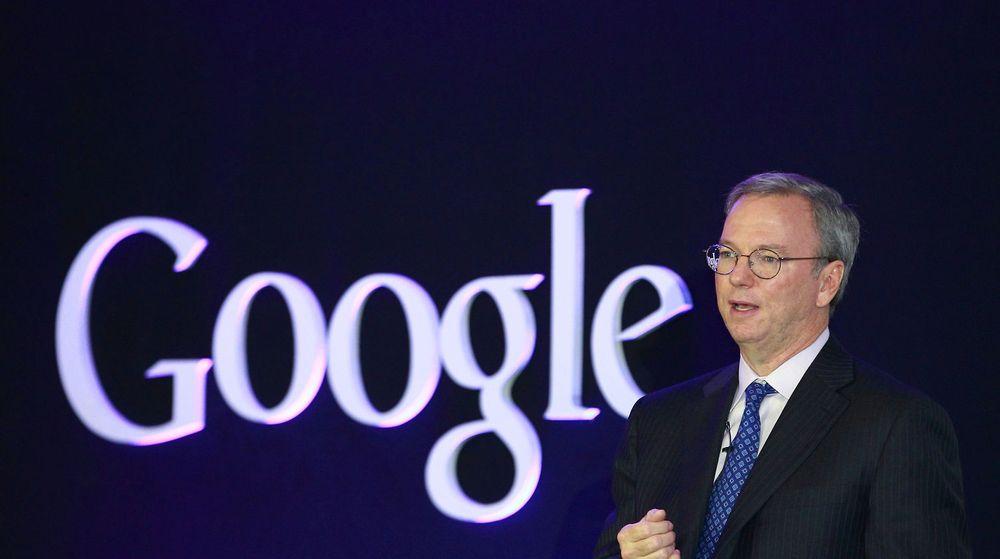Eric Schmidt og Google leverte ikke som ventet i går,
