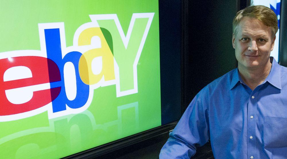 Toppsjef John Donahue i Ebay lykkes i å øke omsetningen gjennom applikasjoner for mobil.