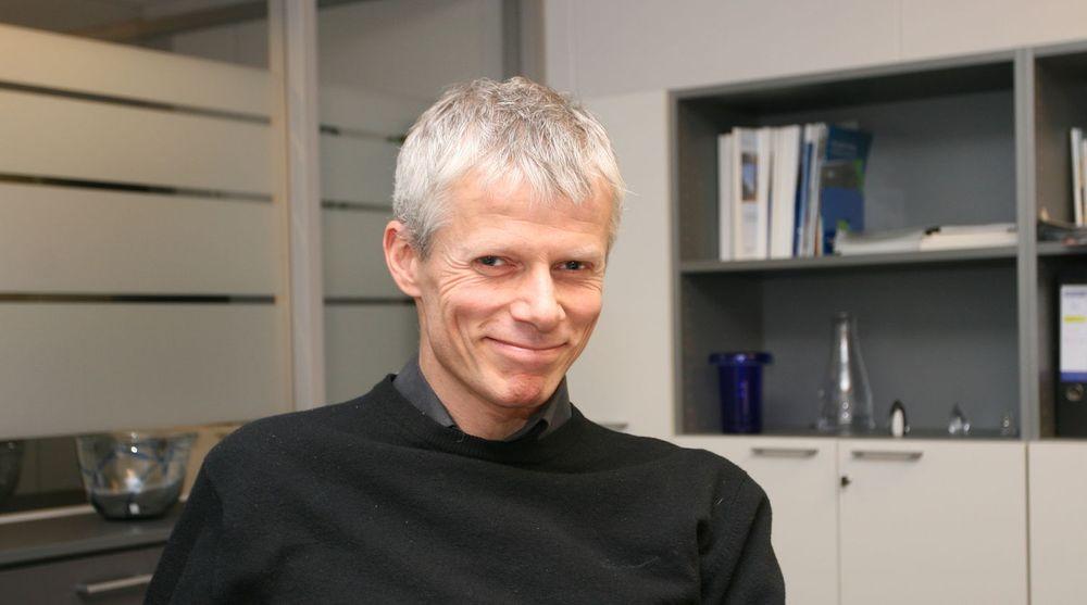 Hans Christian Holte er direktør i IT-direktoratet, landets mest ansiktsløse etat.