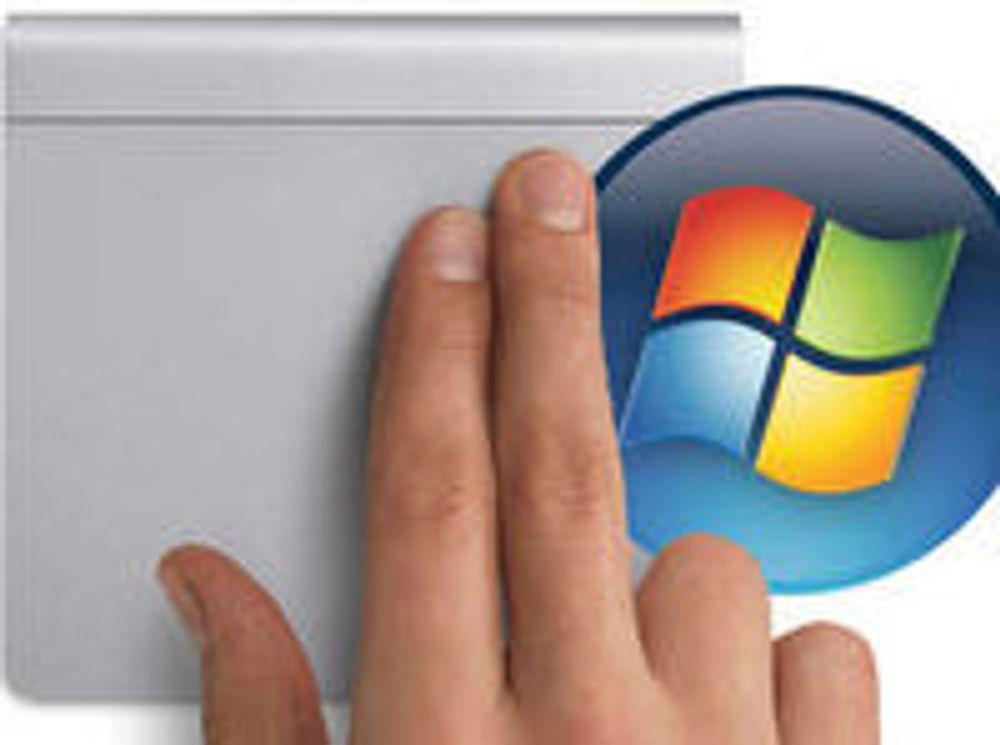 Magic Trackpad også til Windows