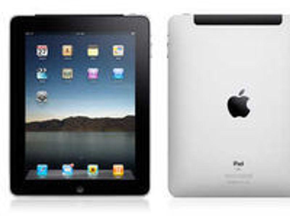 - 15.000 iPad-er i Norge
