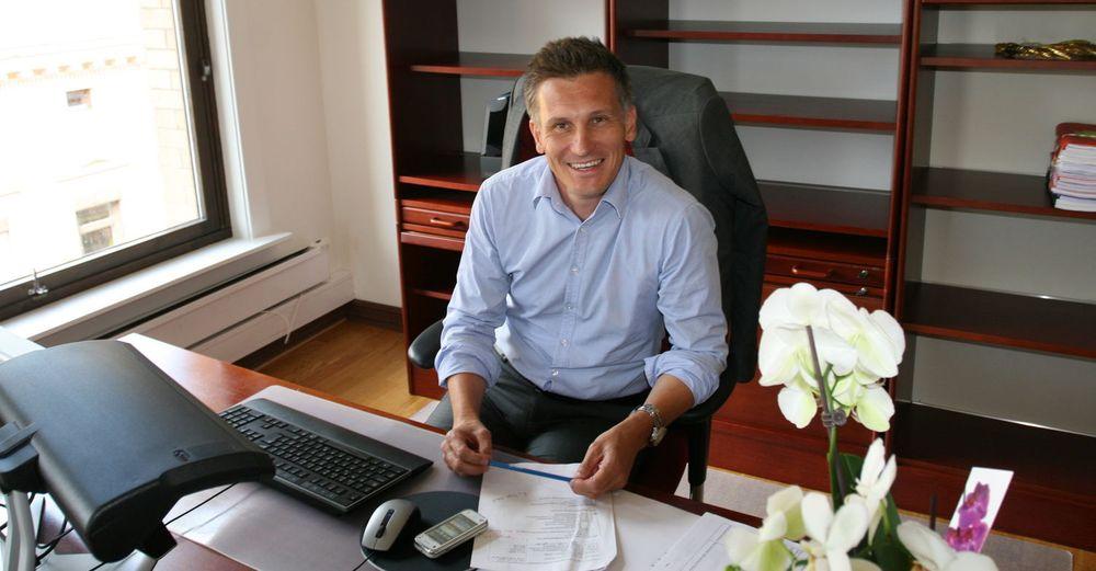 Bjørn Erik Thon begynte mandag som direktør i Datatilsynet.