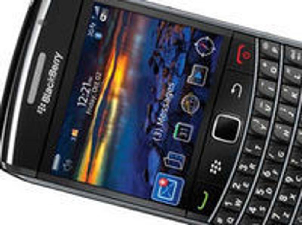 Emiratene frykter Blackberry