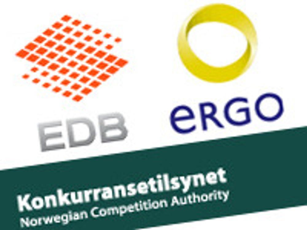 Gransker fusjonen mellom EDB og Ergo