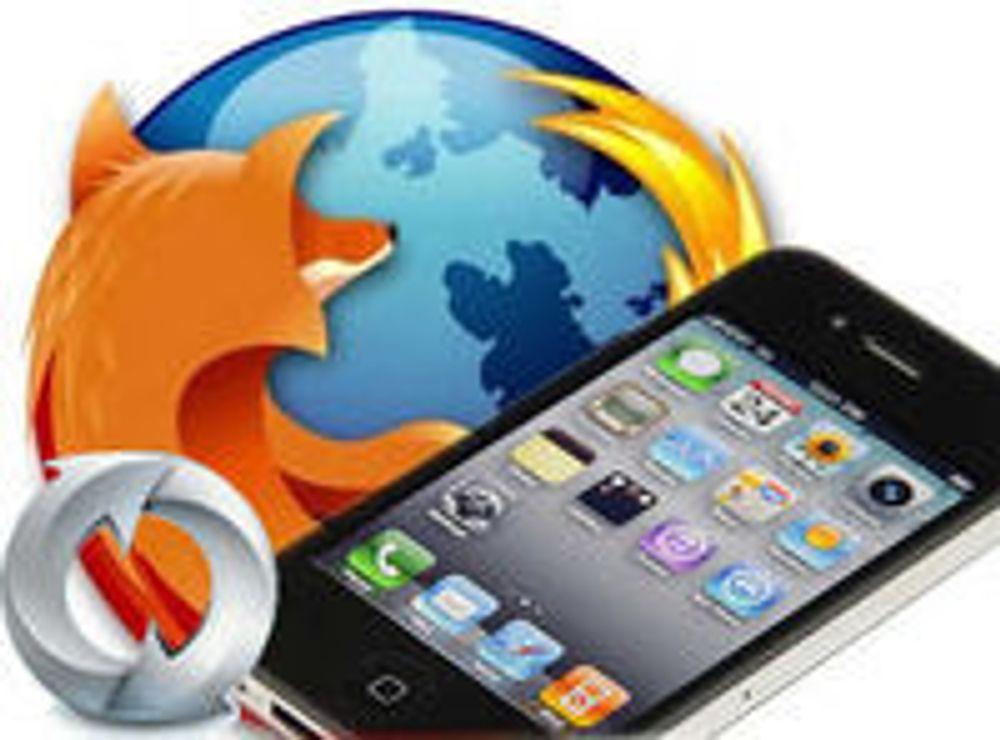 Kobler Firefox til iPhone