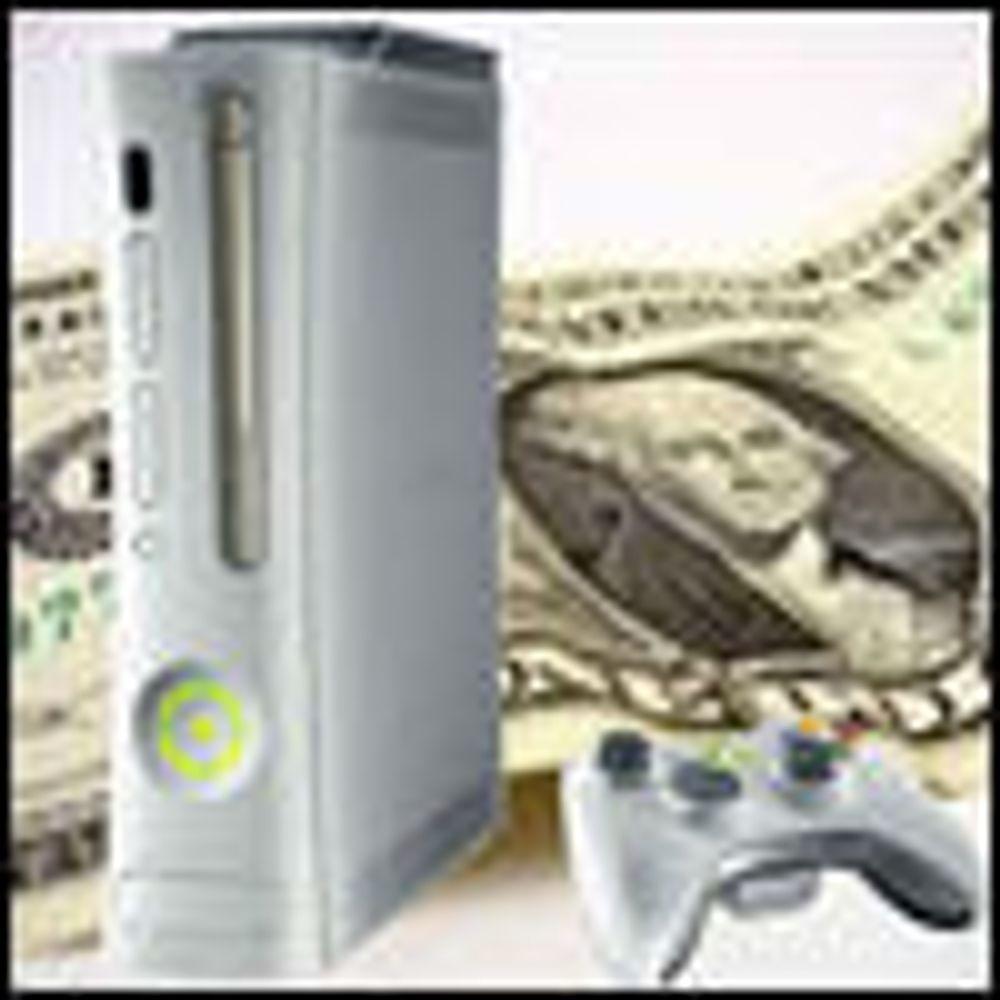 Microsoft senker prisen på Xbox 360