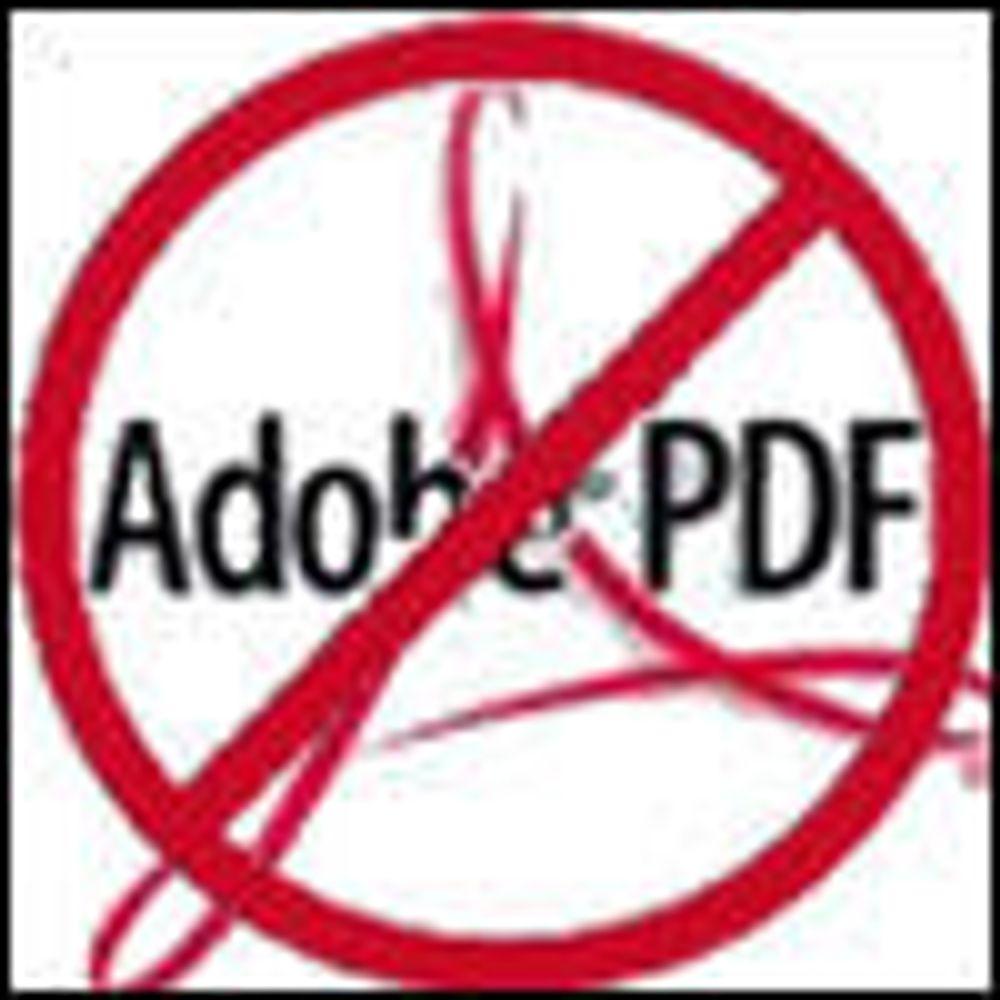 Sikkerhetsprogrammer sliter med PDF-spam