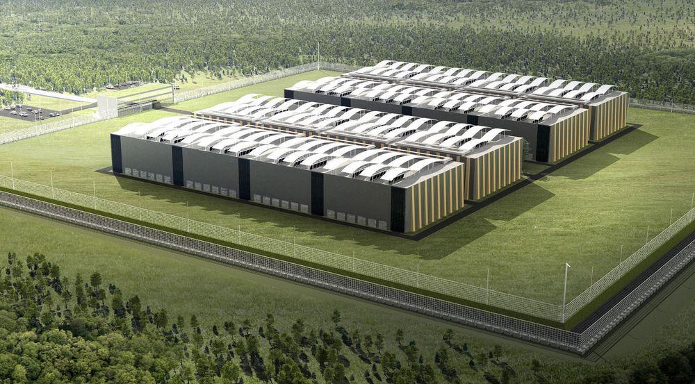 Entra Eiendom planlegger å bygge ut et 30.000 KVM stort datasenter på Fet utenfor Oslo. Så langt har de ikke fått signert noen større kunder, men de har fått et viktig partnerskap med en konkurrent.