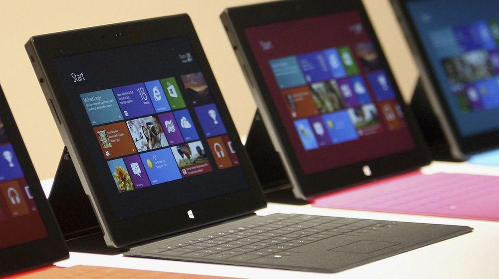 Konkurrerer med egne partnere: Enkelte av Microsofts pc-partene følte seg sveket etter lanseringen av nettbrettet Surface, ifølge Reuters.