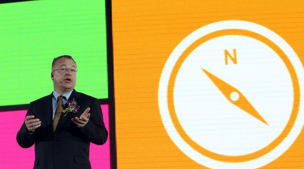 Stephen Elop har ennå ikke greid å få Nokia inn på rett kurs.