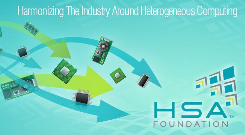 HSA Foundation skal gjøre det enklere å lage programvare som mer effektivt utnytter at dagens prosessorbrikker er utstyrt med både CPU, GPU og i blant også andre akseleratorer.