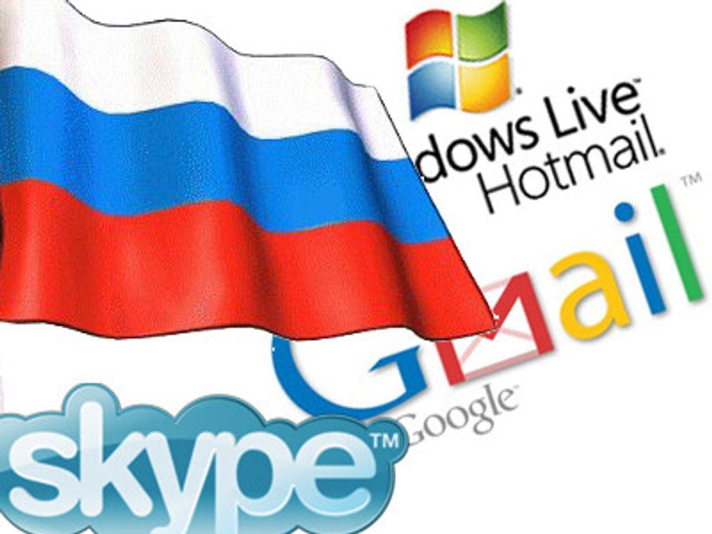 Avsanner «Skype-forbud» i Russland