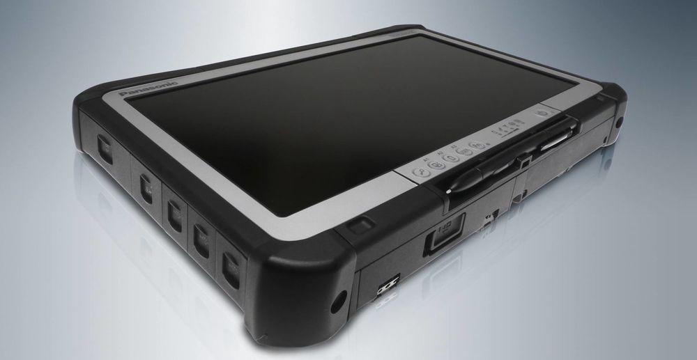 Panasonic Toughbook Diagnostic Tablet skal tåle røff behandling, og er spesiallaget for bilverksteder.