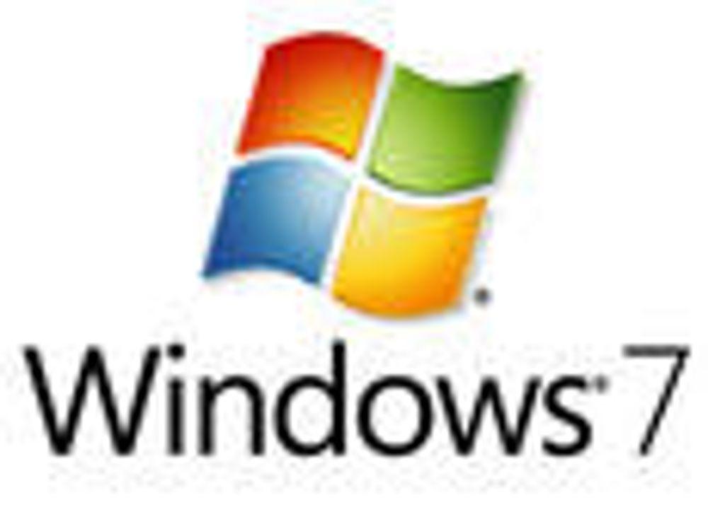 Datoen klar for Windows 7 på norsk