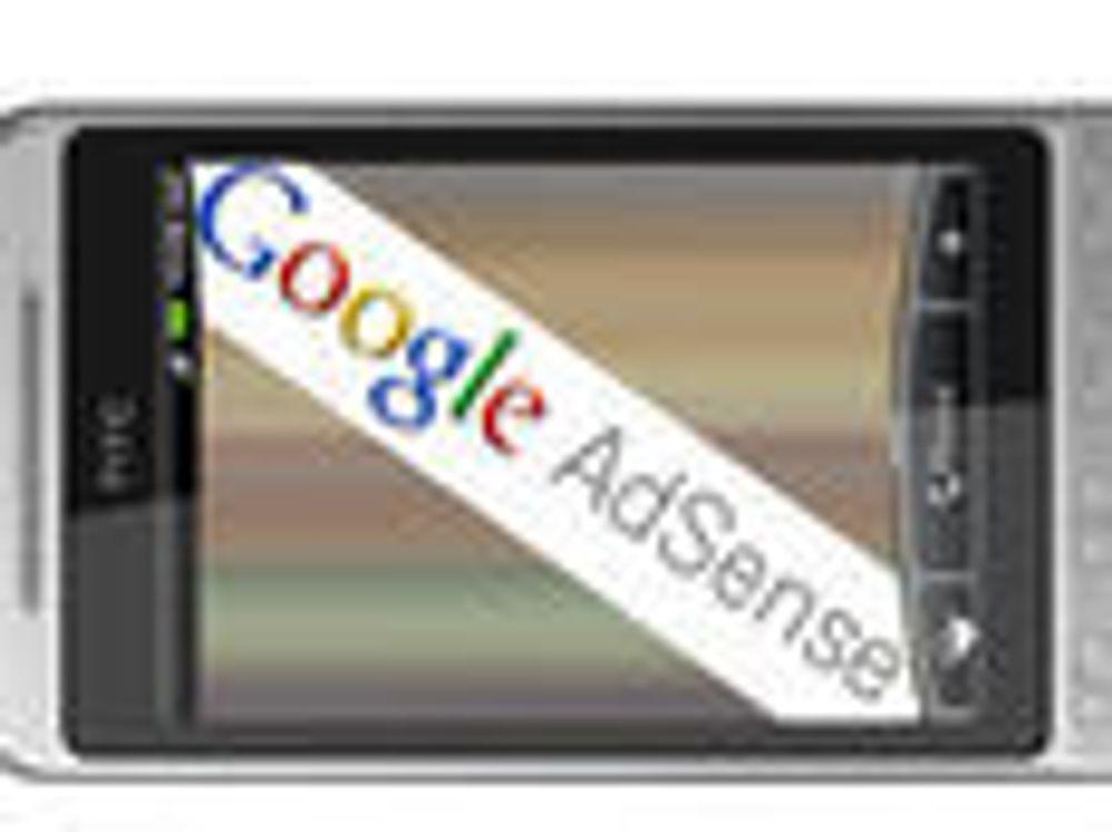 Åpner for AdSense i mobilprogrammer