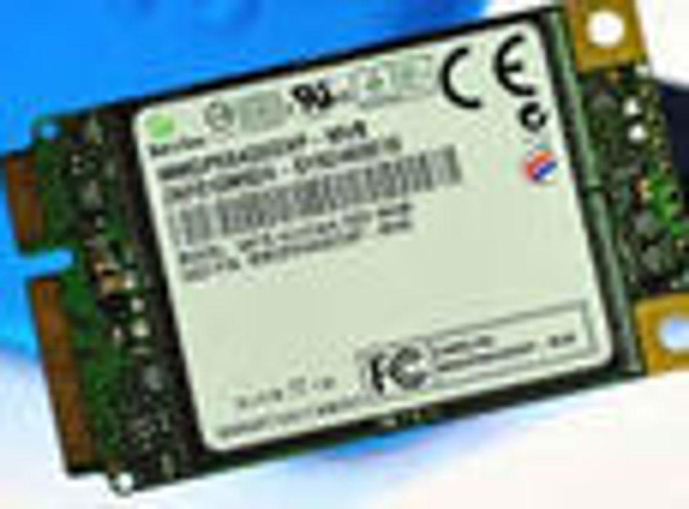 Samsungs nye solid state drive (SSD) har SATA-grensesnitt og er beregnet på små bærbare maskiner.