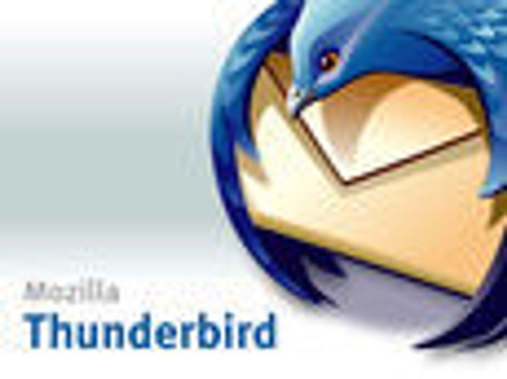 Fjerner sårbarheter fra Thunderbird