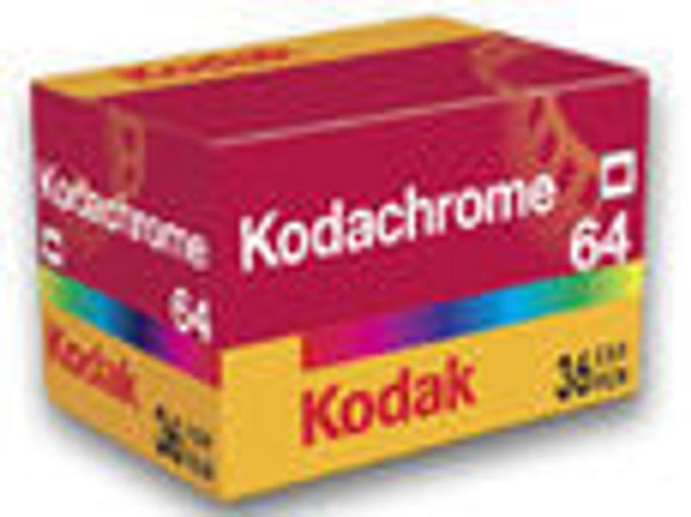 Tiden løper snart ut for Kodachrome.