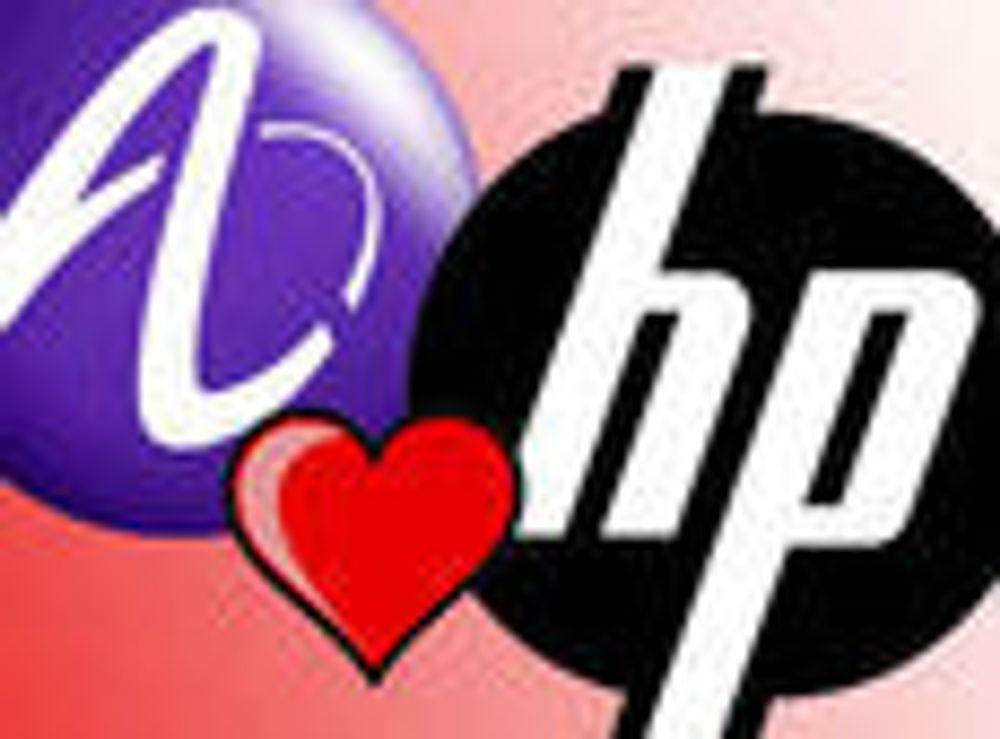 HP og Alcatel inngår samarbeid