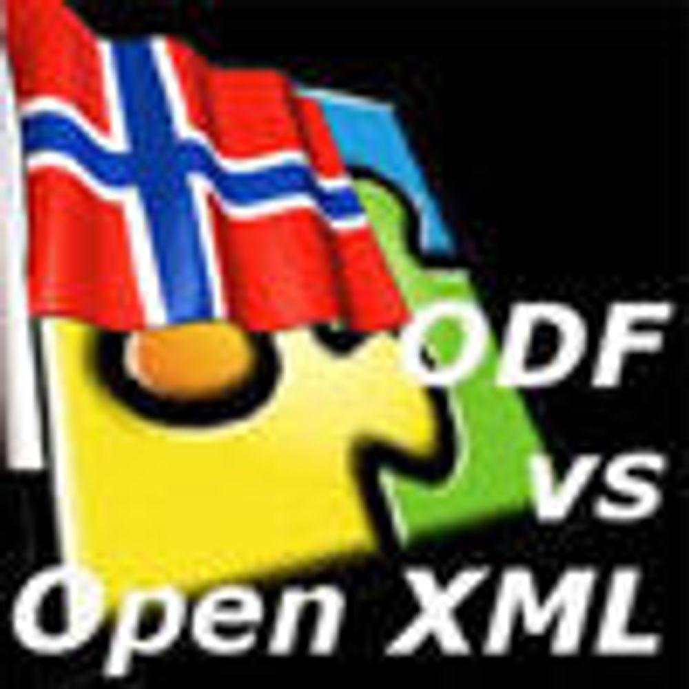 Demonstrasjon i Oslo mot OOXML