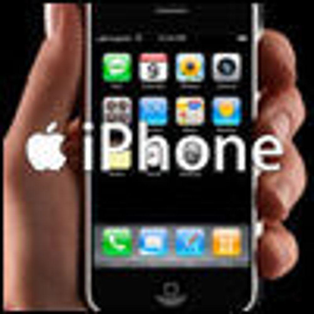- iPhone med 3G kommer innen 60 dager