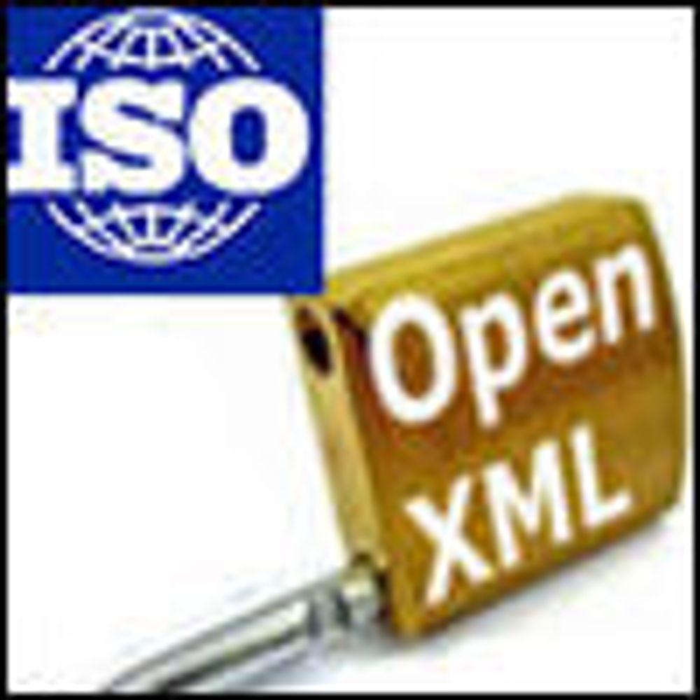 Bekrefter at OOXML blir ISO-standard