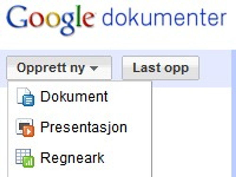 Lanserer raskere og smartere Google Docs