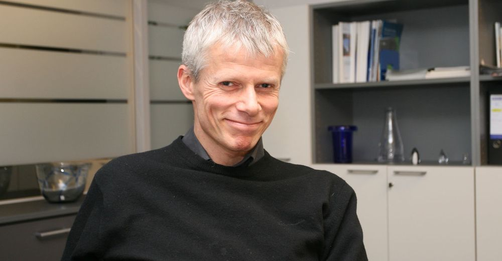 Brukerrekord: Difi-direktør Hans Christian Holte kan smile over at statens innloggingsportal nå er blant landets aller største.