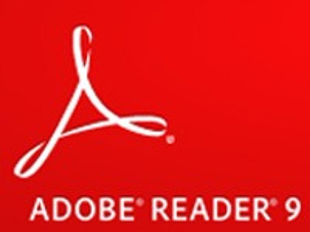 Adobe Reader skal oppdatere seg selv