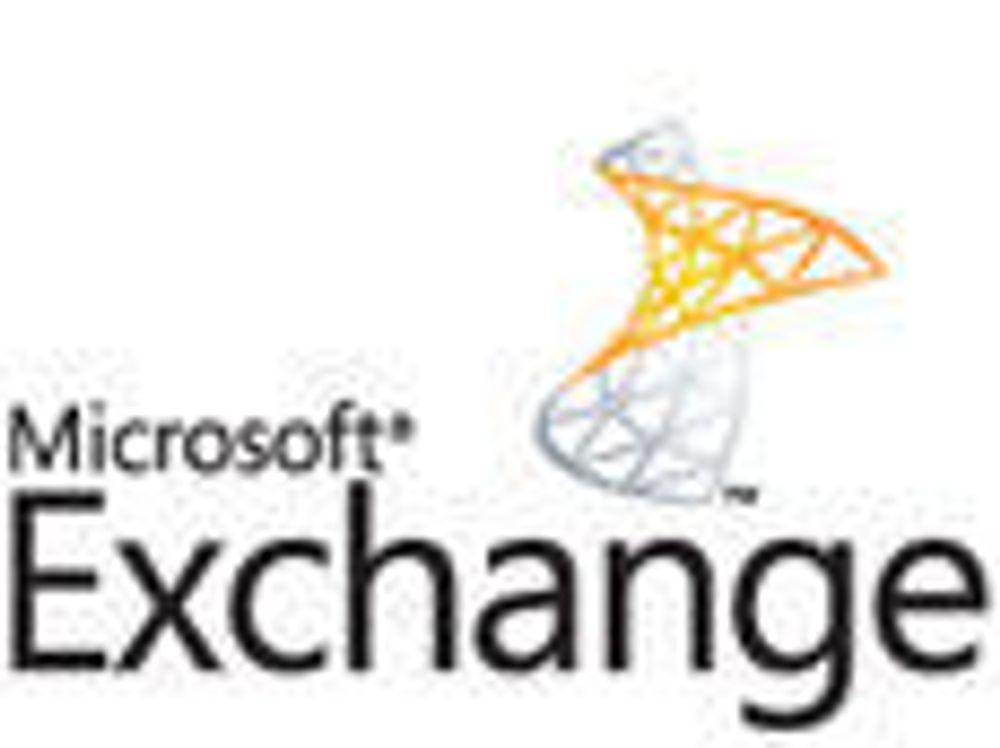 Servicepakke til Exchange kommer i år