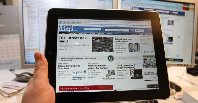 iPad dobbelt så rask som iPhone 3GS