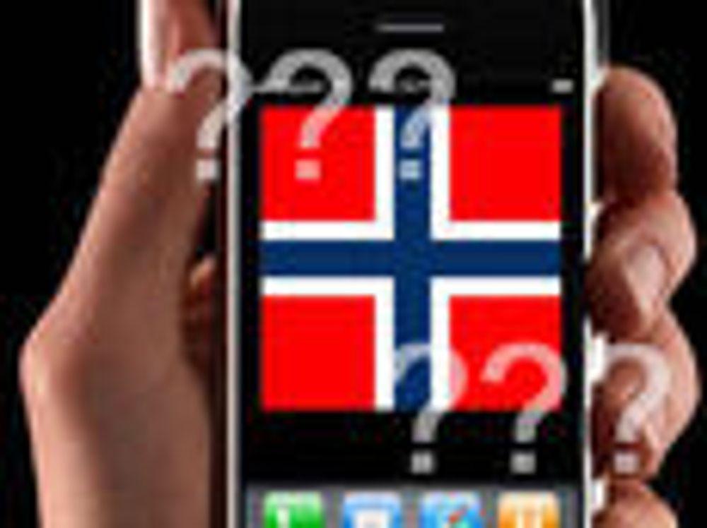 Hvilken iPhone får Norge?