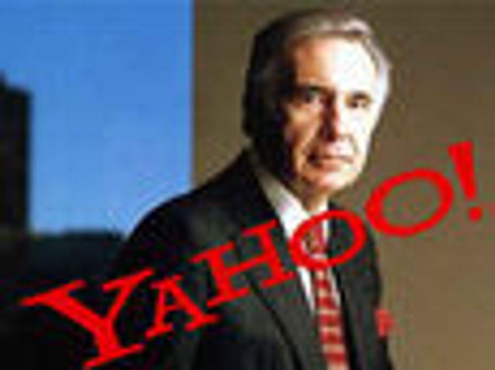 Ampert mellom Yahoo og stor investor