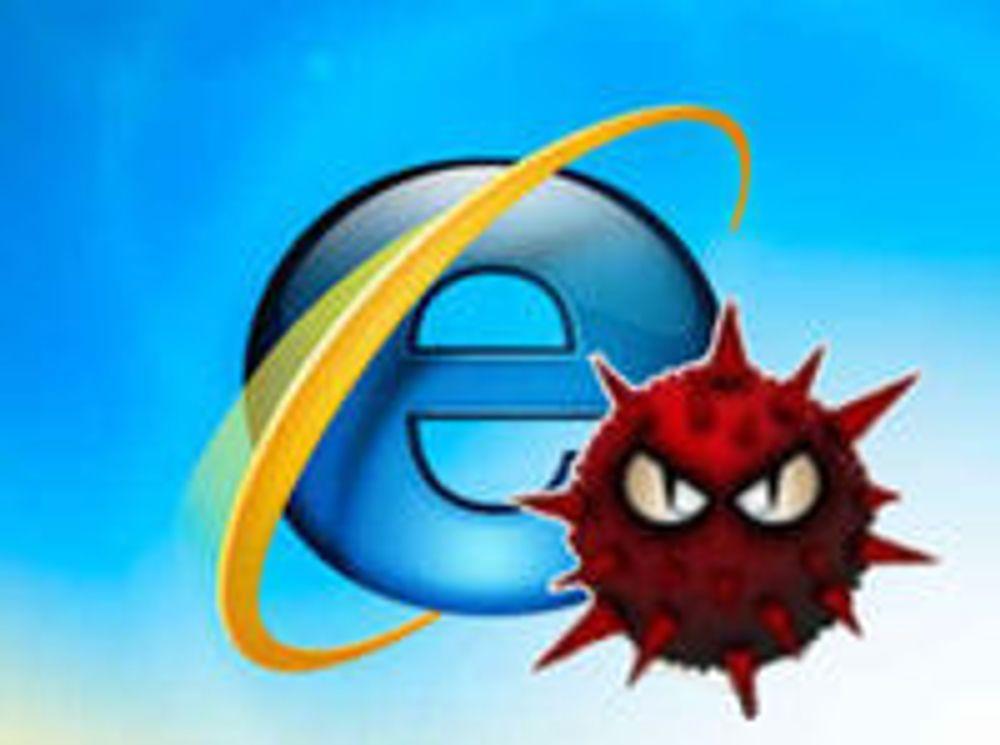 I full gang med å utnytte IE-sårbarhet
