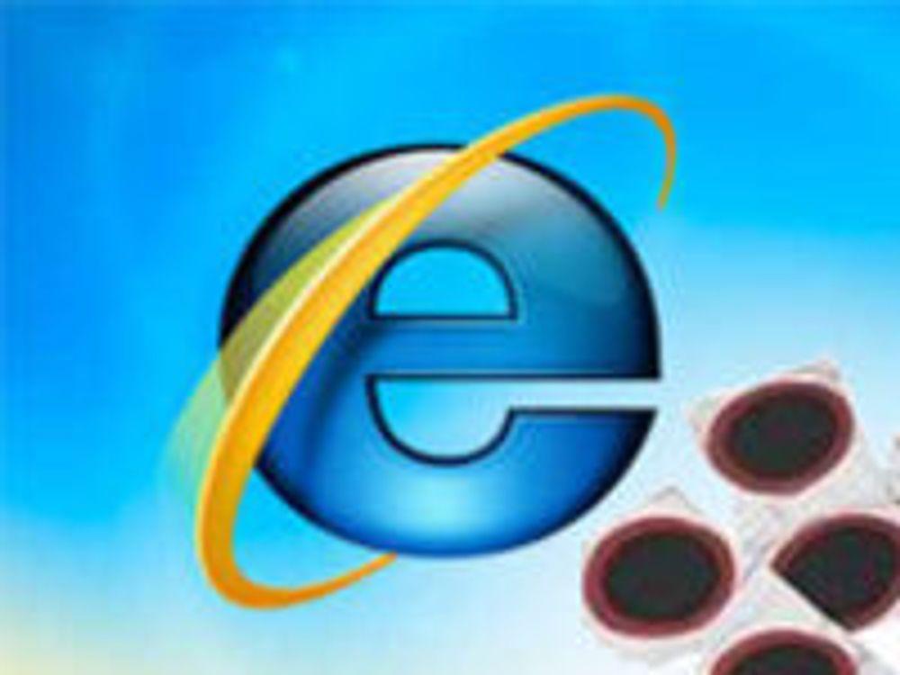 Microsoft fjerner mange IE-sårbarheter