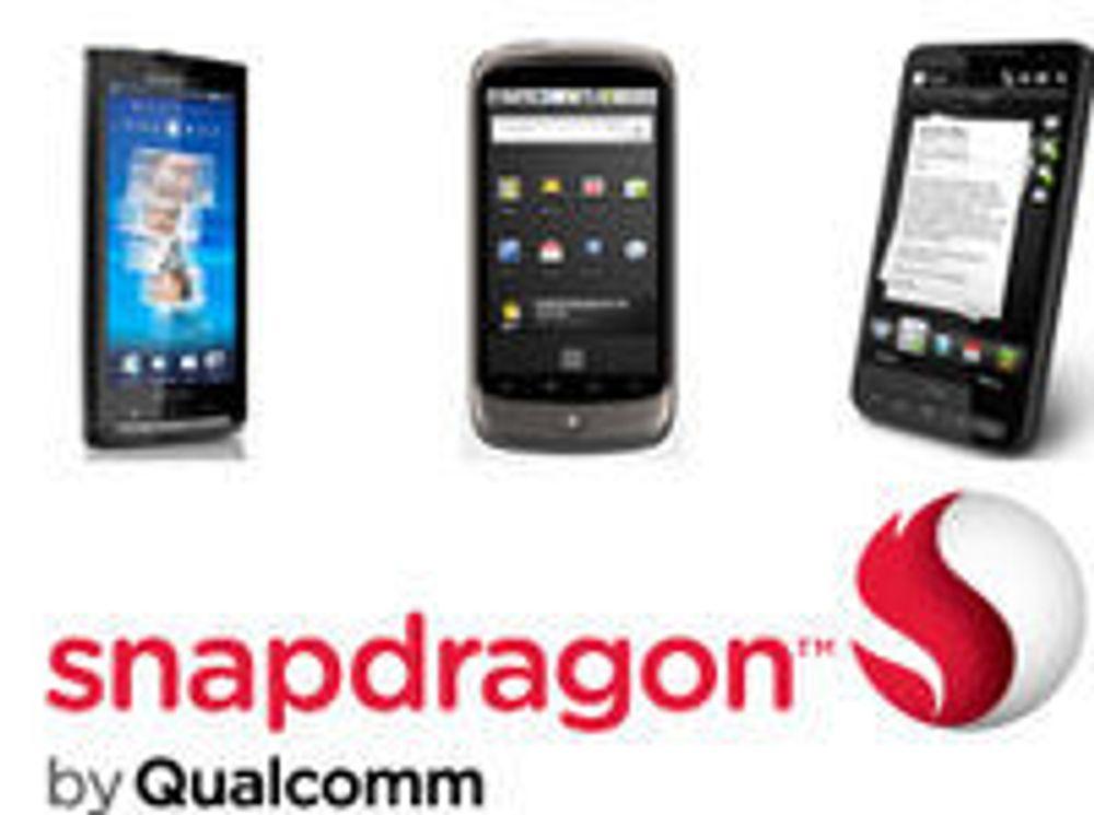 Snapdragon-prosessor får to kjerner