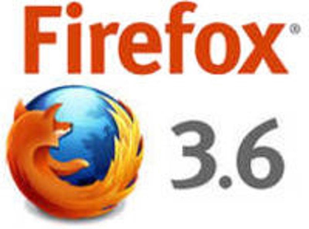 Firefox 3.6 ventes om få dager