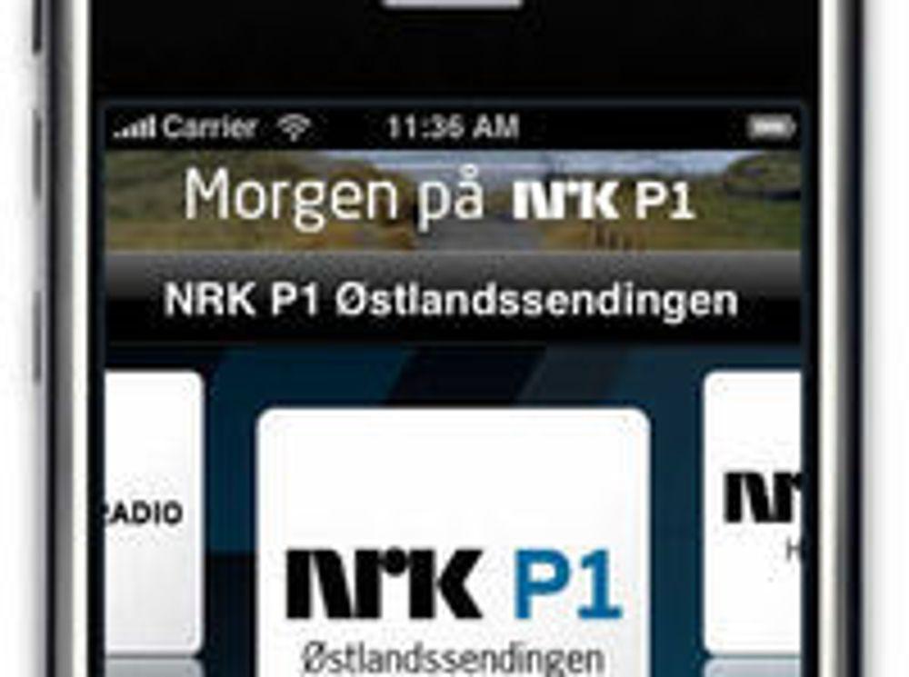 NRK utgir radio-programvare