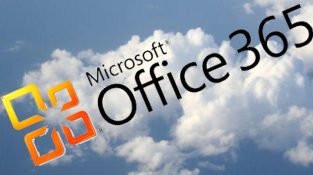 Nedetid i nettskyen til Microsoft