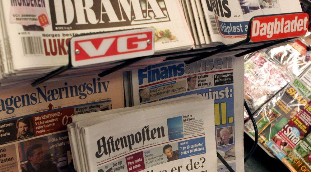 Papiraviser tapte enda mer fra juli til august. Tilbakegangen er størst for VG og Dagbladet.