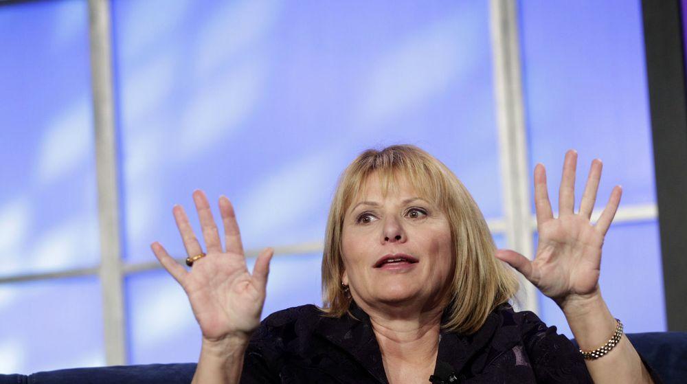 Yahoo-aksjen spratt 6 prosent opp da nyheten om avgangen til Carol Bartz ble kjent.